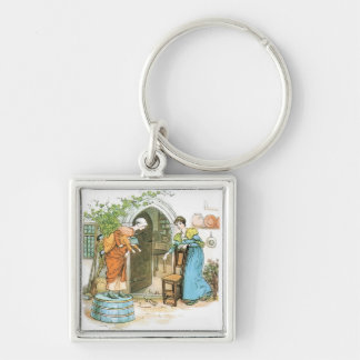 The Pied Piper: Spoilded the Womens Chats Keychain