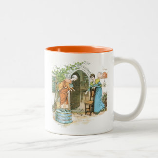 The Pied Piper: Spoilded the Womens Chats Two-Tone Coffee Mug