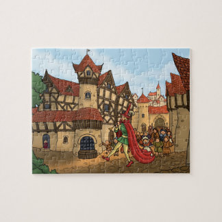 the pied piper & the children fairytale puzzle