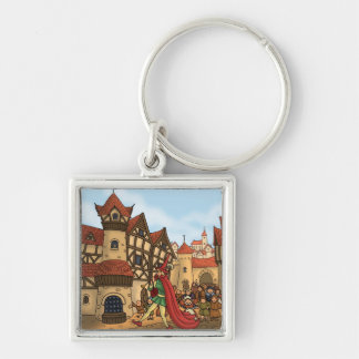 the pied piper & the children keychain