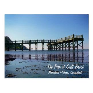 The Pier at Gulf Beach Postcard