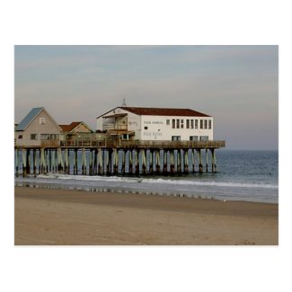 The Pier at Old Orchard Beach, Maine Postcard