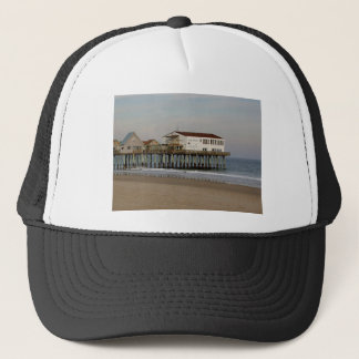 The Pier at Old Orchard Beach, Maine Trucker Hat
