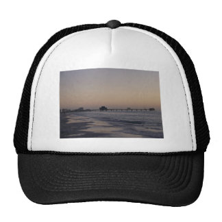 The Pier at Sunset Trucker Hat