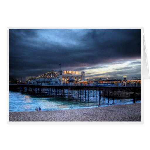 The Pier Greeting Cards