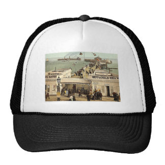 The pier, Clacton-on-Sea, England classic Photochr Mesh Hat