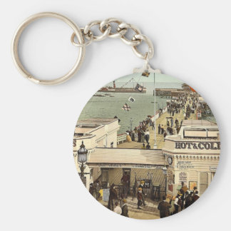 The pier, Clacton-on-Sea, England classic Photochr Keychains