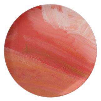 The Pier Fine Art Dishware Melamine Plate