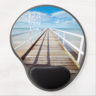 The pier gel mouse pad