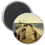 The pier Ostend Belgium Magnet