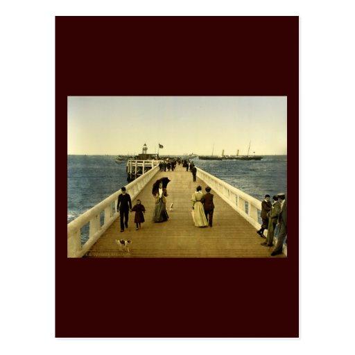 The pier Ostend Belgium Postcards