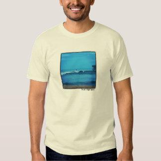 """the pier"" Surf Photo T-shirt"