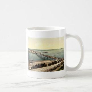 The pier, Weston-super-Mare, England rare Photochr Classic White Coffee Mug