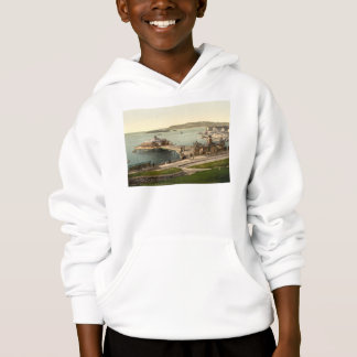 The Pier, with Drake's Island, Plymouth, England Hoodie