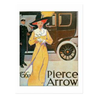 The Pierce Arrow 2 Postcard
