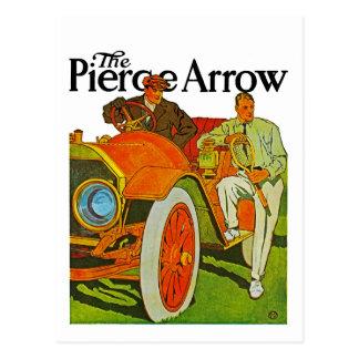 The Pierce Arrow Postcard