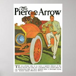 The Pierce Arrow Print