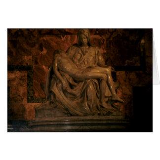 The Pieta by Michelangelo Card