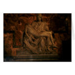 The Pieta by Michelangelo Greeting Card
