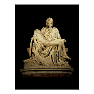 The Pieta by Michelangelo Poster