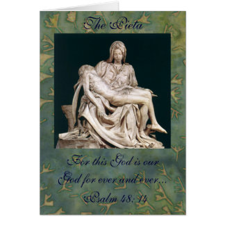 The Pieta Card