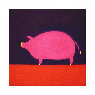 The Pig 1998 Canvas Print