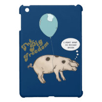 the pig freedom, cute cover for the iPad mini