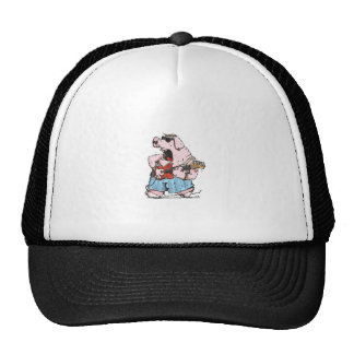 The Pig has the Blues Trucker Hat