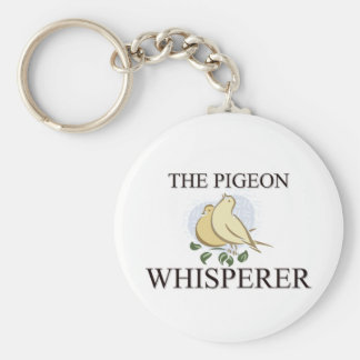 The Pigeon Whisperer Keychain