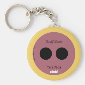The Pigs Keychain