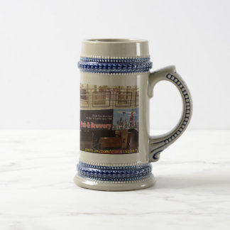 The Pike Pub & Brewery 18 Oz Beer Stein