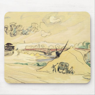 The Pile of Sand, Bercy, 1905 Mouse Pad