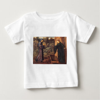 The Pilgrim at the Gate of Idleness by Edward Burn Baby T-Shirt