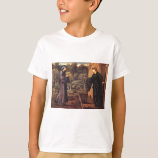 The Pilgrim at the Gate of Idleness by Edward Burn T-Shirt