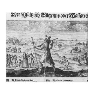 The Pilgrim of Palatinate', Frederick V Canvas Print