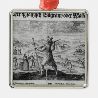 The Pilgrim of Palatinate', Frederick V Metal Ornament