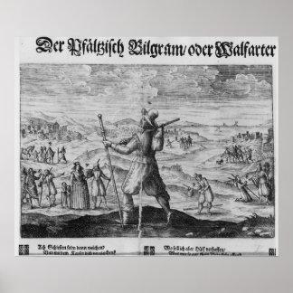 The Pilgrim of Palatinate', Frederick V Poster