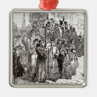 The Pilgrimage of Grace in 1536 Metal Ornament