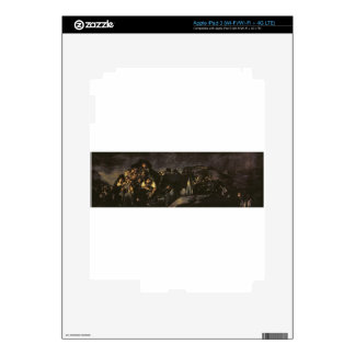 The Pilgrimage of San Isidro by Francisco Goya Skins For iPad 3