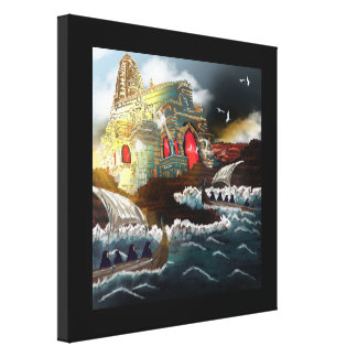 The Pilgrimage - Printed Canvas