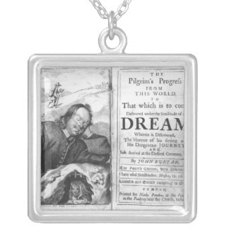 The Pilgrim's Progress' Silver Plated Necklace