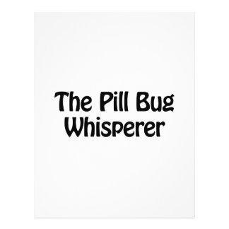 """the pill bug whisperer 8.5"""" x 11"""" flyer"""