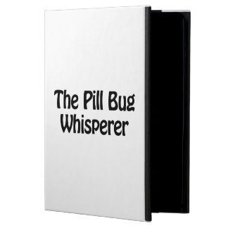 the pill bug whisperer iPad air cover