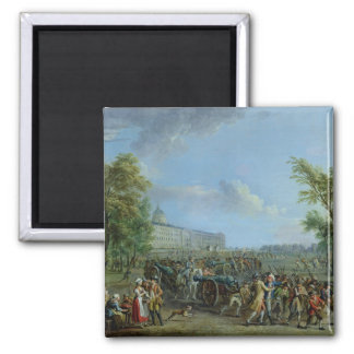 The Pillage of the Invalides, 14 July 1789 Fridge Magnet