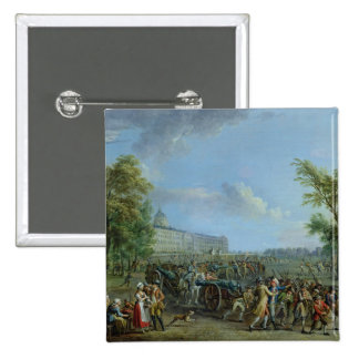 The Pillage of the Invalides, 14 July 1789 Pinback Button