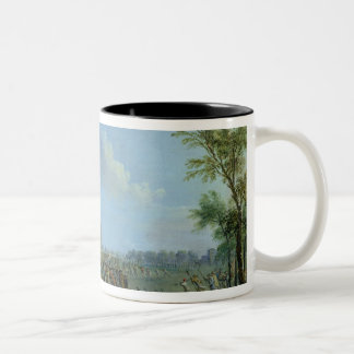 The Pillage of the Invalides, 14 July 1789 Two-Tone Coffee Mug