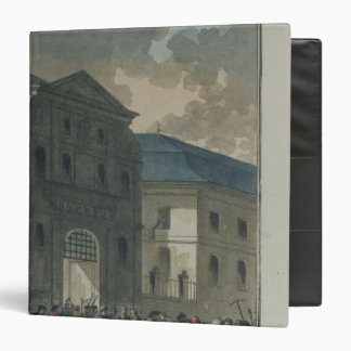 The Pillage of the Saint-Lazare Convent 3 Ring Binder