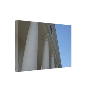 The Pillar Stretched Canvas Prints