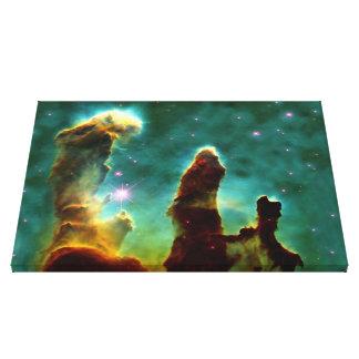 The Pillars of Creation Canvas Print