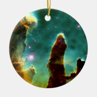The Pillars of Creation Ceramic Ornament
